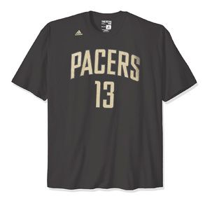 Adidas NBA Indiana Pacers Paul George T-Shirt NWT